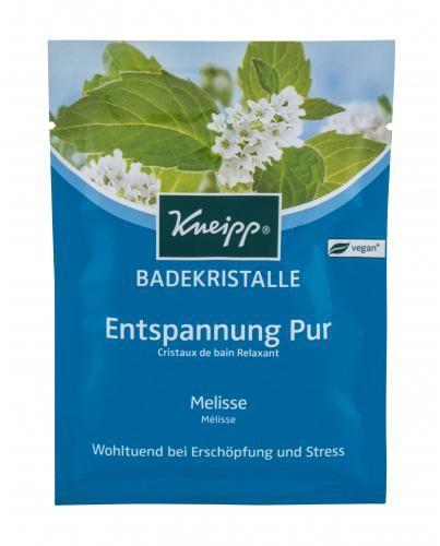 Kneipp Mineral Bath Salt Pure Relaxation Melissa sól do kąpieli 60 g unisex