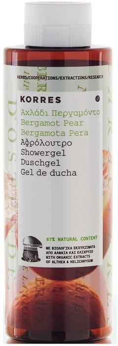 Korres Bergamot Pear Showergel żel pod prysznic o zapachu bergamotki i gruszki 250 ml