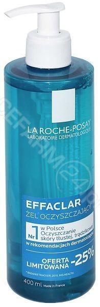 La Roche-Posay Effaclar Oczyszczający żel do skóry tłustej i wrażliwej 400 ml