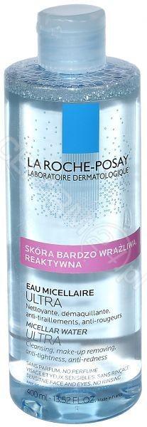 La Roche-Posay La Roche-Posay woda micelarna do skóry bardzo wrażliwej reaktywnej 400 ml
