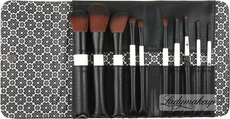 Lily Lolo 10 Piece Luxury Brush Set - Zestaw 10 pędzli w etui