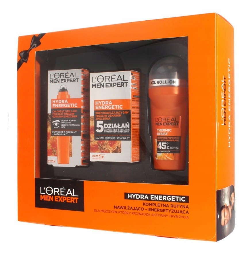 LOreal Paris Men Expert Hydra Energetic zestaw