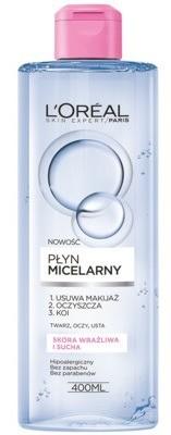 Loreal Płyn micelarny do skóry suchej i wrażliwej 400ml