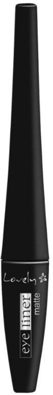 Lovely Lovely Matte Eyeliner Czarny Eyeliner LOV-6513