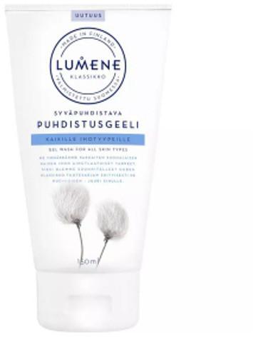 Lumene Klassikko Syvapuhdistava Puhdistusgeeli Głęboko oczyszczający żel do mycia twarzy 150 ml