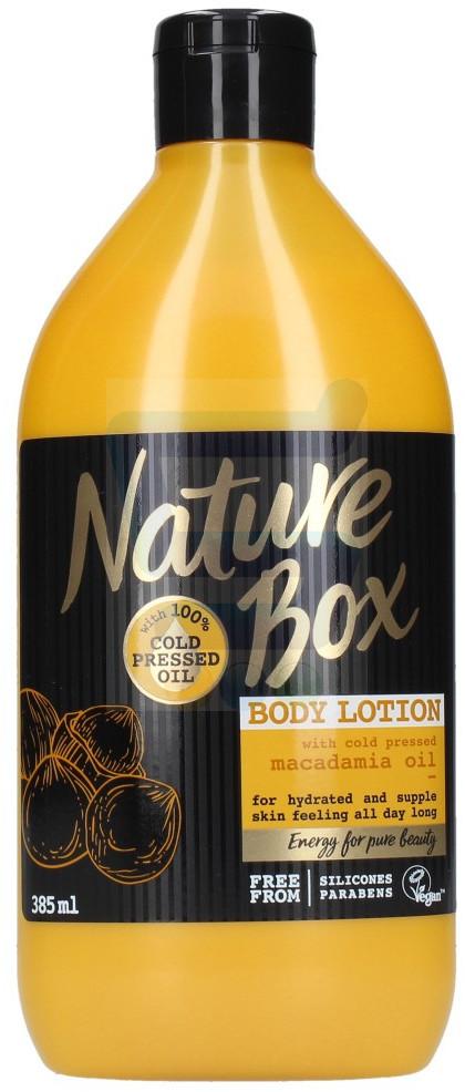Macadamia Nature Box Oil Nawilżający balsam do ciała 385 ml