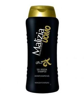 Malizia Malzia Uomo Gold męski żel pod prysznic i szampon 2w1 250ml) 8003510016877