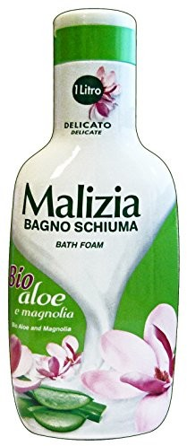 Malizia żel pod prysznic organiczne Aloe/Magnolia 1wg.