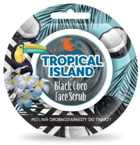 Marion Tropical Island Peeling drobnoziarnisty Black Coco 8g