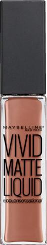 Maybelline MAYBELLINE_Vivid Matte Liquid Lip Color matowy błyszczyk do ust 50 Nude Thrill 8ml