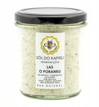Mydlarnia Miodowa Sól do kąpieli Las 350 g