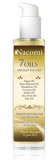 Nacomi Maska do olejowania włosów 7 olei-intensywna regeneracja 100ml