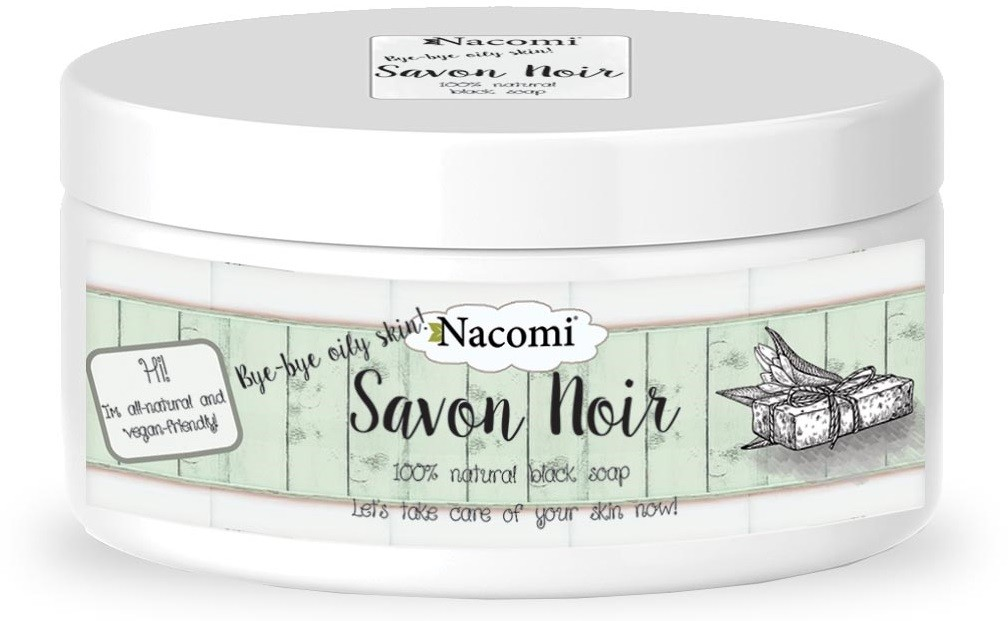 Nacomi Savon Noir Czarne Mydło 120g NACO-3214