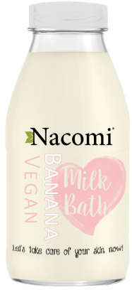 Nacomi Vegan Milk Bath mleczko do kąpieli Banana 300ml
