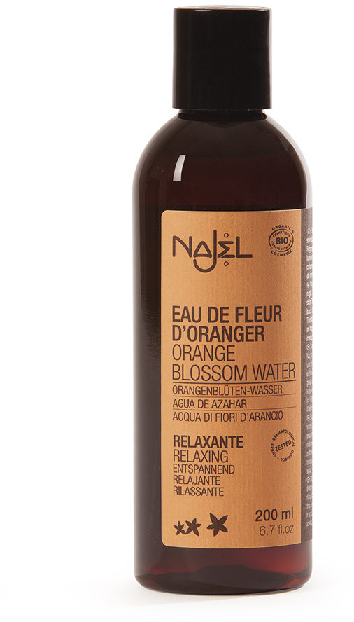 Najel Organiczna Woda z Kwiatów Pomarańczy 200ml NAJ-3653