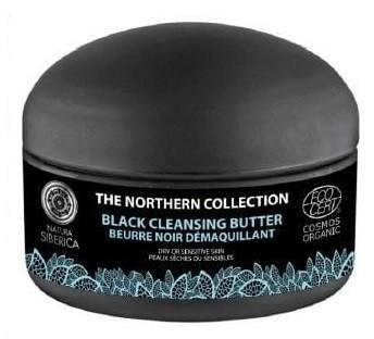 Natura Siberica The Northern Collection Black Cleasing Butter 120 ml Czarne masło oczyszczające codzienna pielęgnacja i usuwanie makijażu