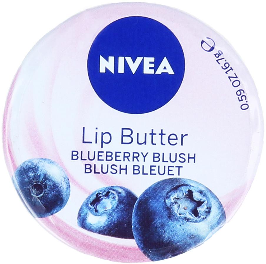 Nivea Lip Butter Blueberry Blush Masełko Do Ust 16,7g 42269243