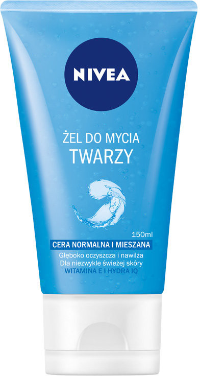 Nivea Visage: odświeżający żel do mycia twarzy 150ml