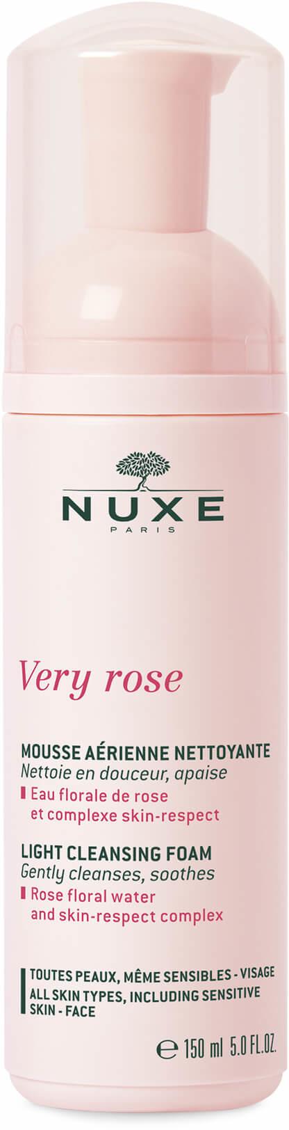 Nuxe Very Rose delikatna pianka oczyszczająca do wszystkich rodzajów skóry 150 ml