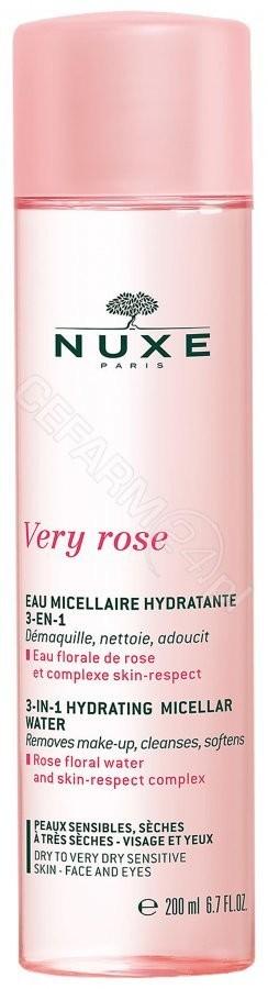 Nuxe Very rose nawilżająca woda micelarna 3w1 200 ml