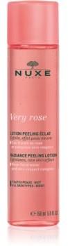 Nuxe Very Rose rozjaśniający peeling do wszystkich rodzajów skóry 150 ml