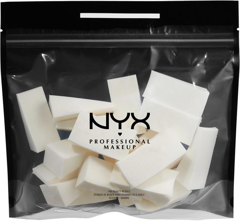 NYX Professional Makeup NYX Professional Makeup - PRO BEAUTY WEDGES - Zestaw 20 gąbeczek do makijażu NYXBZGMA