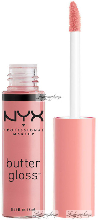 NYX Professional Makeup Professional Makeup - BUTTER GLOSS - Kremowy błyszczyk do ust - 41 - CRANBERRY PIN NYXL4PI