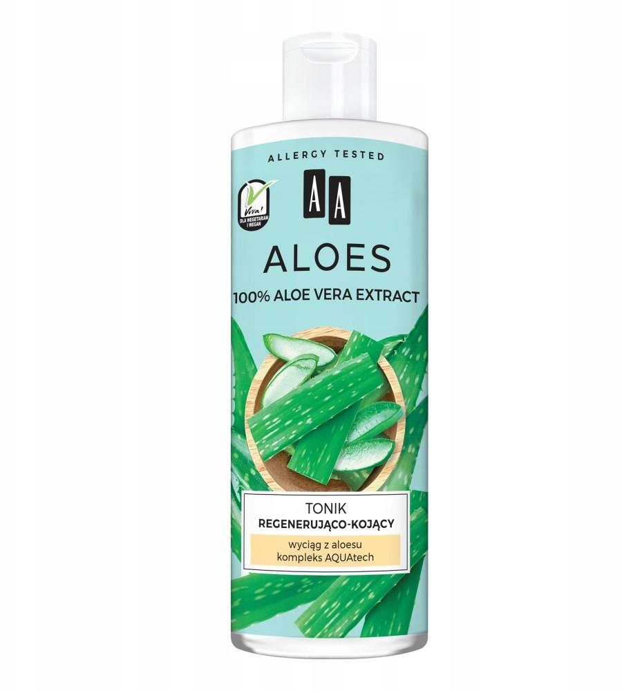 Oceanic 100% Aloe tonik regenerująco-kojący 400ml