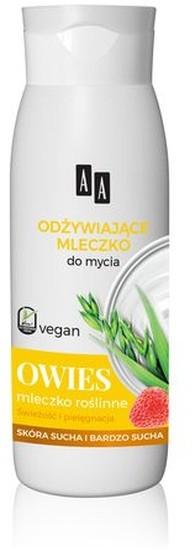Oceanic Vegan odżywiające mleczko do mycia do skóry suchej i bardzo suchej Owies 400ml