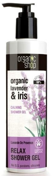 Organic Shop - Relaksujący żel pod prysznic Lawenda Prowansji 280ml