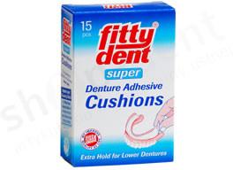 Oskar Altwirth Dentalneuheten Fitty Dent Klejące podkładki pod protezy dolne 0000000287