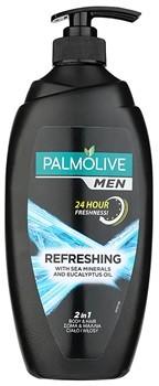 Palmolive Men Refreshing żel pod prysznic dla mężczyzn 2w1 (Sea Minerals and Eucalyptus Oil) 750 ml
