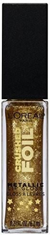 PARIS L'Oréal błyszczyk do ust Infaillible Crushed Foil 14 mirrored, 6.2 G A95812