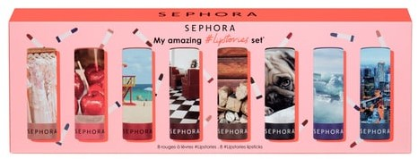 Sephora COLLECTION My Amazing #Lipstories Set - Zestaw