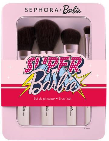 Sephora X Barbie - Zestaw pędzli
