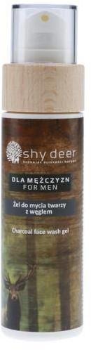Shy Deer For Men Charcoal Face Wash Gel żel do mycia twarzy z węglem dla mężczyzn 100ml