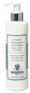 Sisley Lyslait Demaquillant au Lys Blanc Mleczko do demakijażu z białą lilią do skóry suchej i wrażliwej 250ml