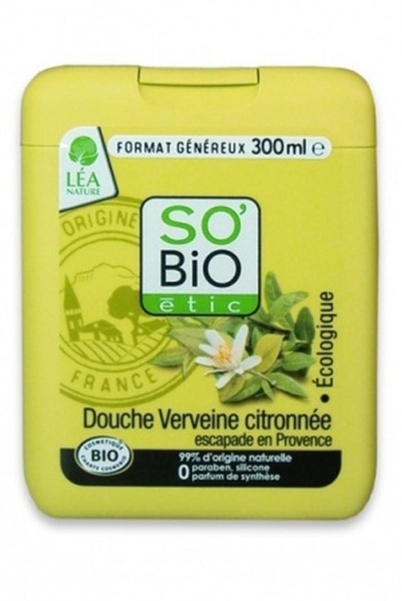 So Bio etic żel pod prysznic Cytrynowo-Werbenowa Herbata, 300 ml