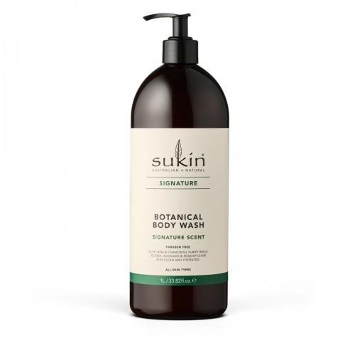 SUKIN Sukin, SIGNATURE Roślinny żel pod prysznic, 1L