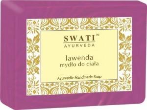 Swati Mydło w kostce Lawenda Indyjskie Lawendowe 100g