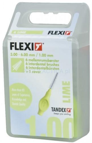 Tandex Flexi 1,0 szczoteczki międzyzębowe choinka 6szt