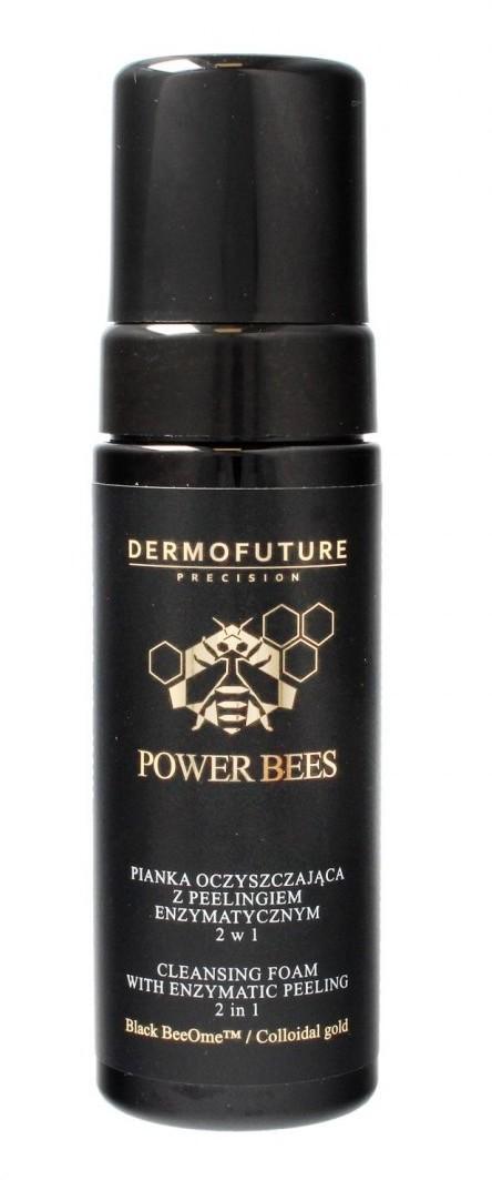 TENEX Dermofuture Precision Power Bees Pianka oczyszczająca z peelingiem 2w1 150ml 634830