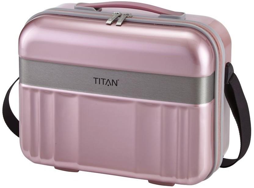 Titan Kuferek / kosmetyczka Spotlight Flash różowa 83170212