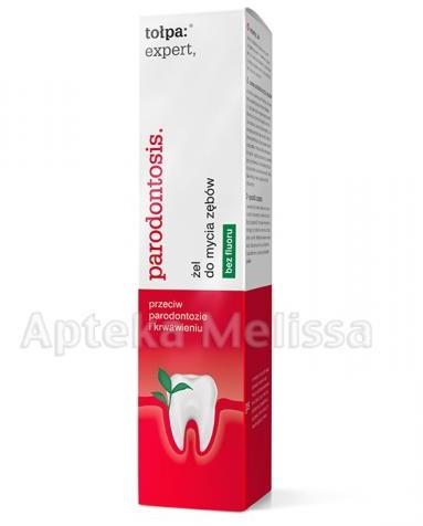 Tołpa EXPERT PARODONTOSIS żel pod prysznic zębów bez fluoru - 75 ml
