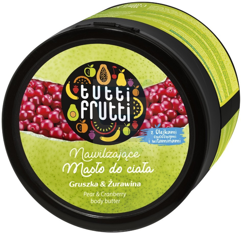 Tutti Frutti Gruszka & Żurawina masło do ciała 200 ml