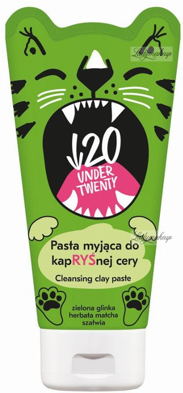 UNDER TWENTY UNDER TWENTY - CLEANSING CLAY PASTE - Pasta myjąca do kapRYŚnej cery - 150ml UNDN101