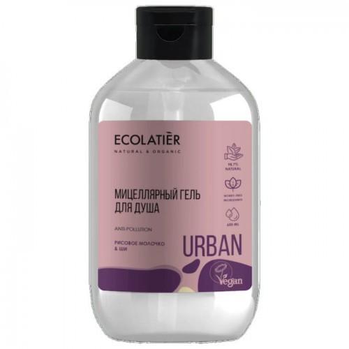 Urban Micelarny Żel Pod Prysznic Mleko Ryżowe I Shea 600 Ml Ecolatier Urban