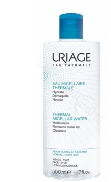 Uriage Woda Micelarna do skóry normalnej i wrażliwej 500ml