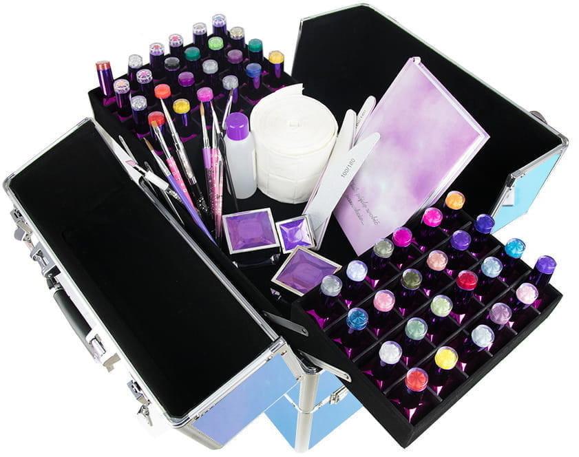Vanity Kuferek Kosmetyczny Dwuczęściowy GLSW-2 5903657336100