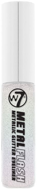 W7 Metal Flash Metallic Glitter Eyeliner Brokatowy Eyeliner W Pędzelku Iridescent